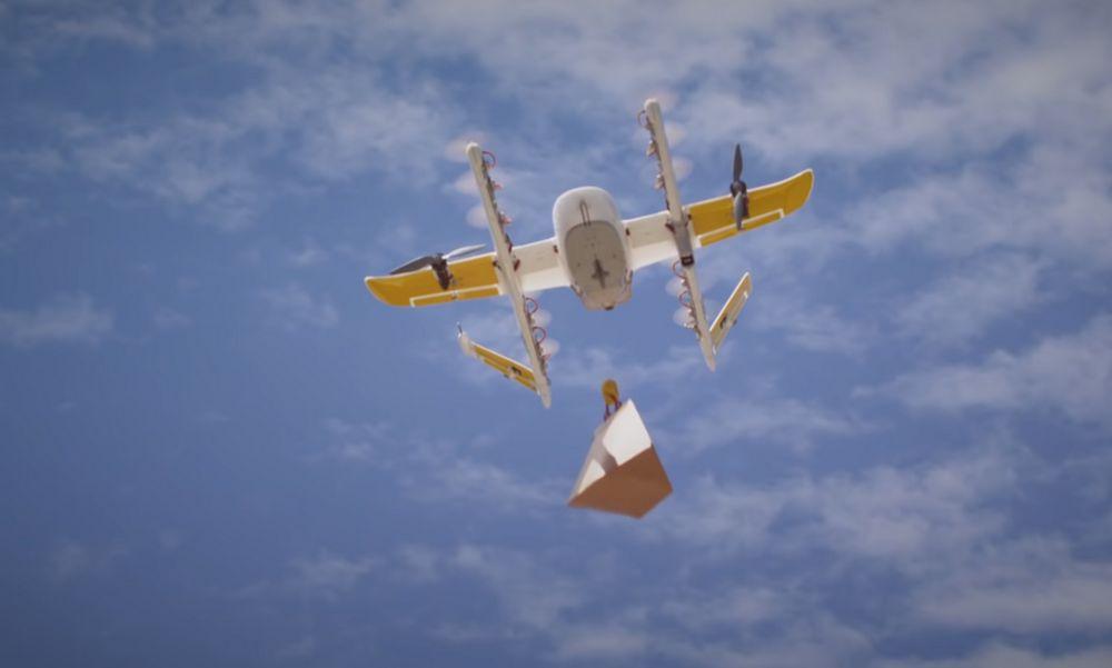 Wing Drone (Alphabet-Google)