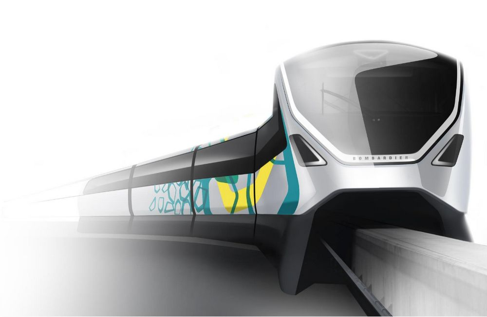 Bombardier Transportation - Peugeot Design Lab