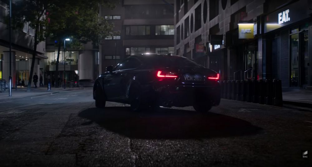 Lexus RC 2020 - Men in Black: International