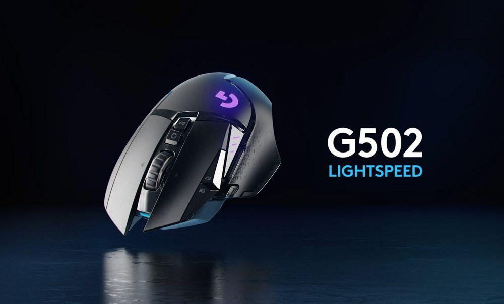 Logitech G502 Lightspeed - Ratón Inalámbrico