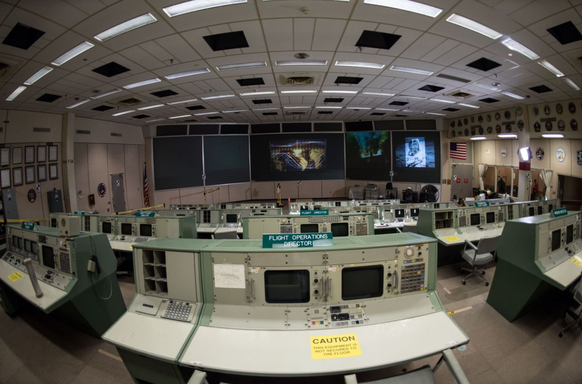 NASA - Centro de Control Misión Apollo - Houston