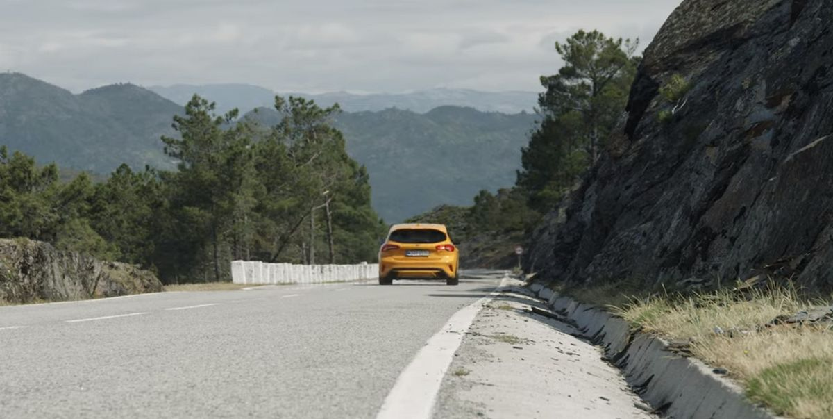 Carretera N304 Portugal - Ford Focus ST