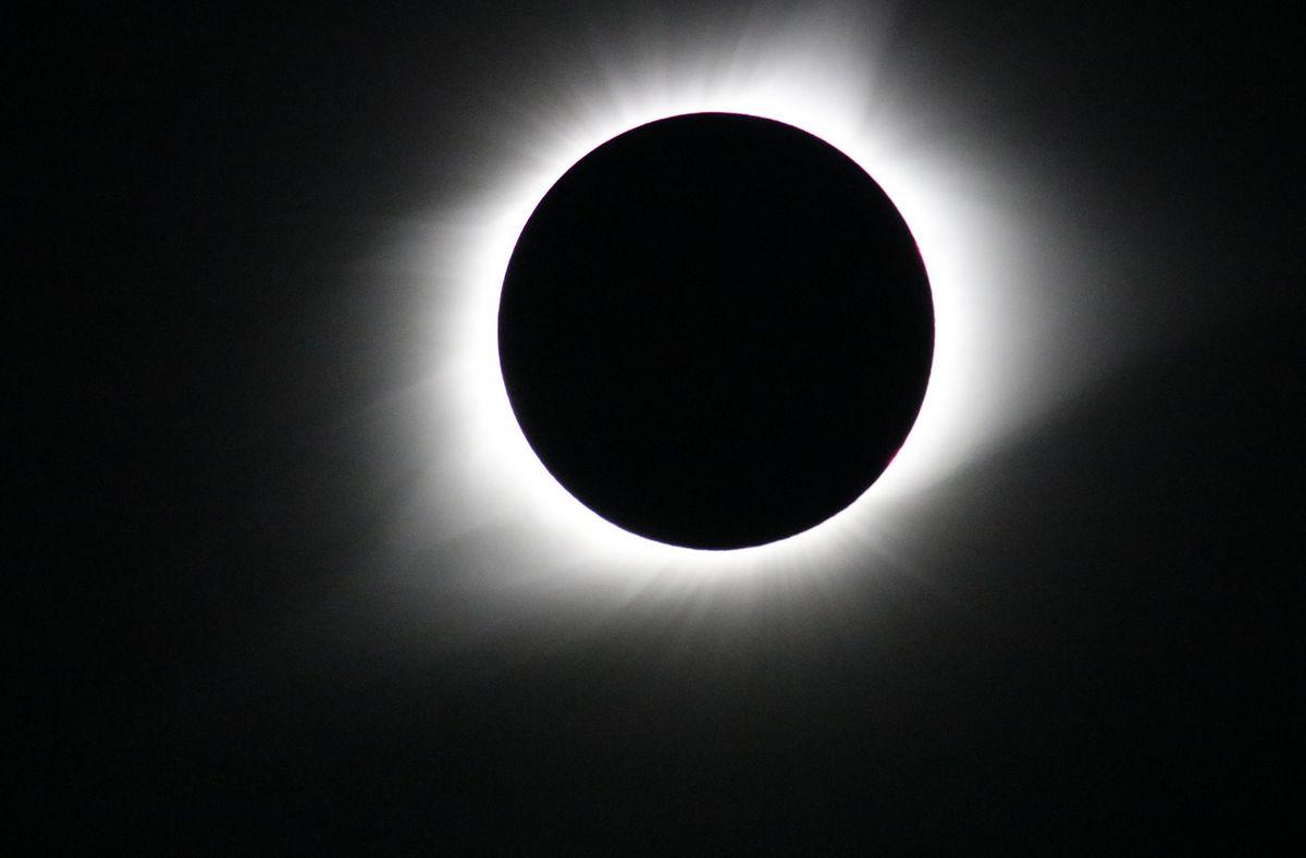 Eclipse total de Sol - NASA