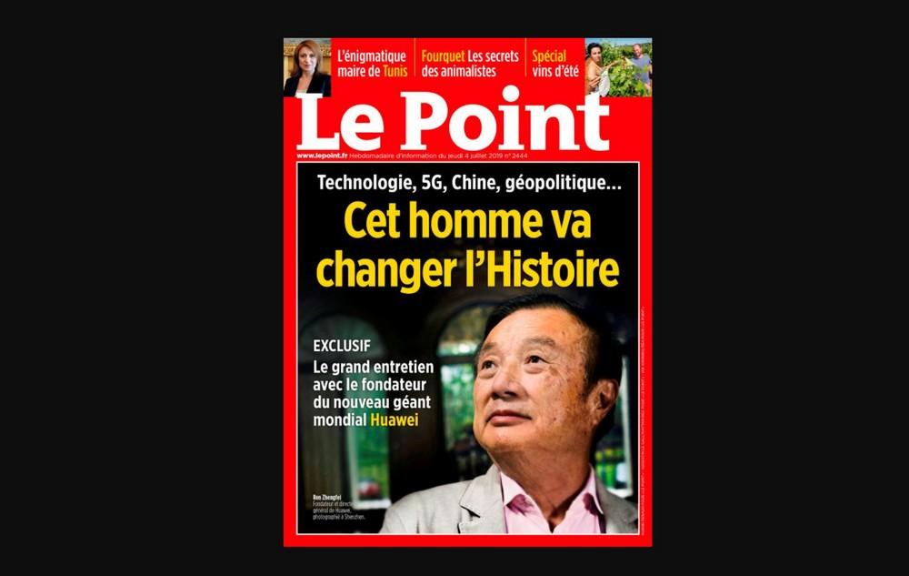 Le Point -4 de Julio 2019 - Ren Zhengfei