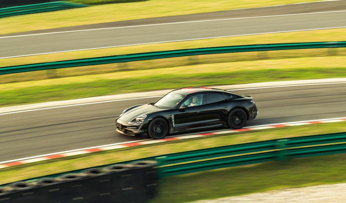 Porsche Taycan - Li Chao - Shanghái China