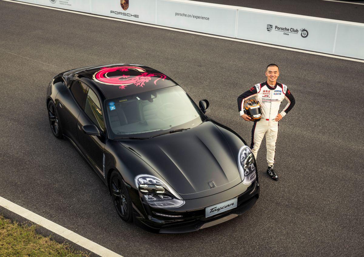 Porsche Taycan - Li Chao
