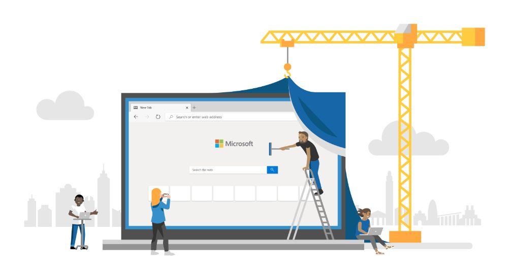 Microsoft Edge beta basado en Chromium