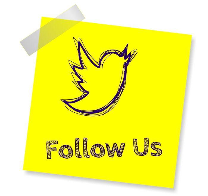 Twitter - Follow Us - Marcas más Visibles