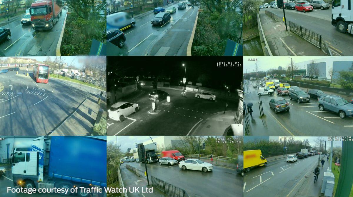 Problemas de tráfico - Vehículos Conectados - Big Data