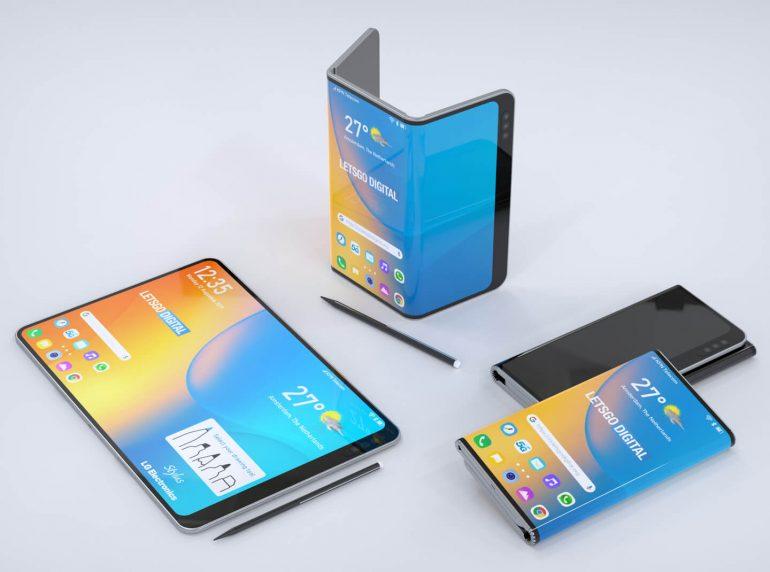 LG - Smartphone plegable