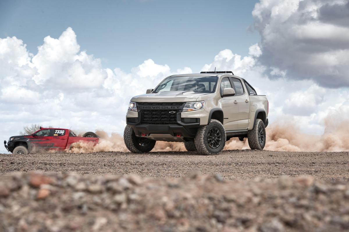 Chevy Colorado ZR2 SEMA