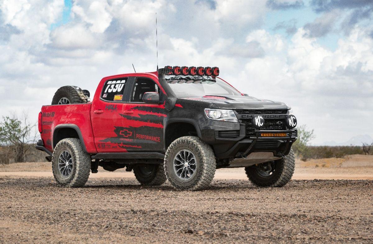 Chevy Colorado ZR2 2021