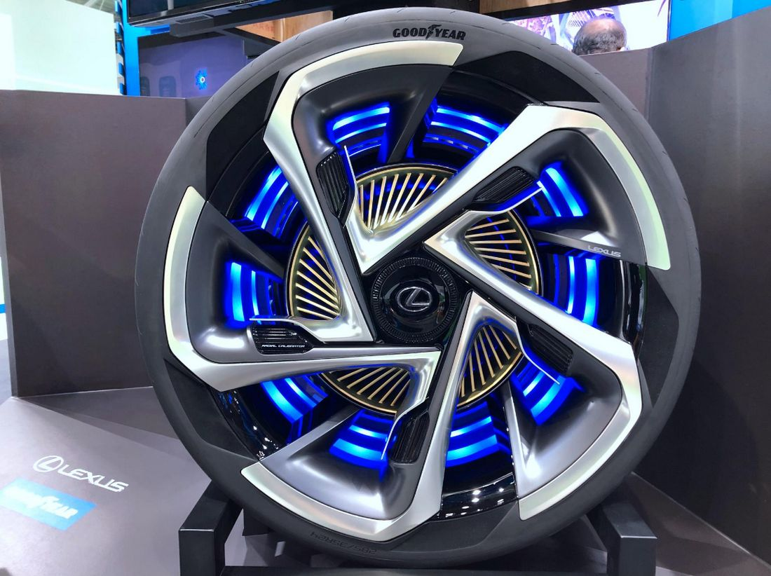Goodyear - Concepto de Neumáticos para Vehículos Eléctricos