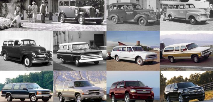 Chevrolet Suburban - 1935 - 2020
