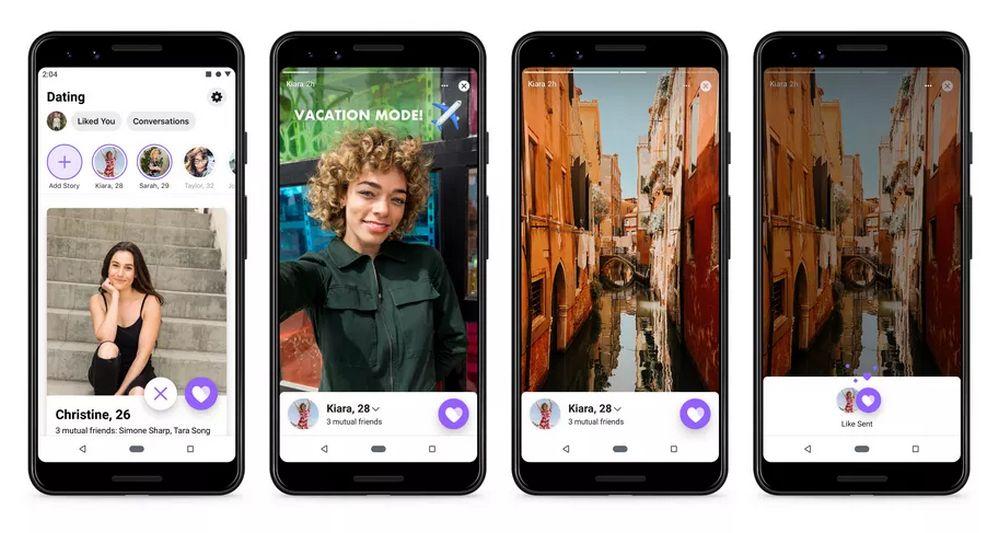 Facebook Dating - Historias de Instagram y Facebook