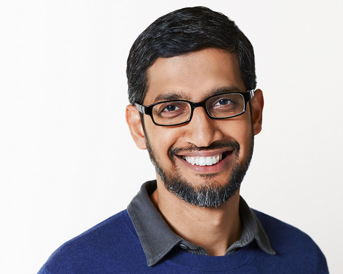 CEO de Alphabet y Google - Sundar Pichai