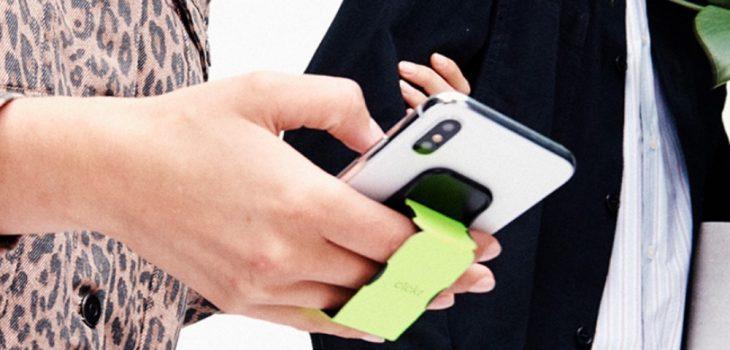 Clickr - Soporte de mano y stand para smartphones