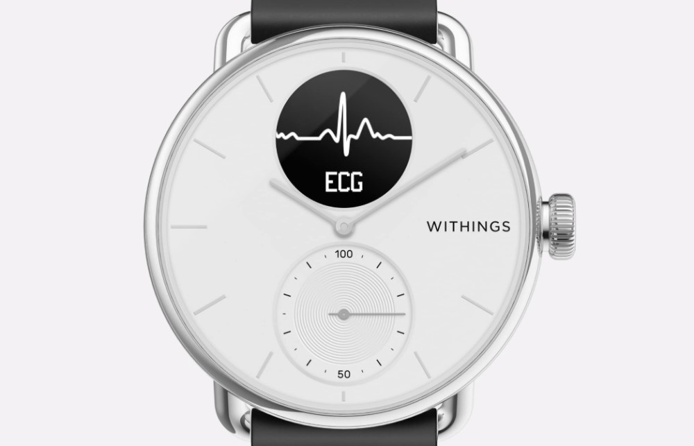 Whtings ScanWatch - Aplicación Health Mate