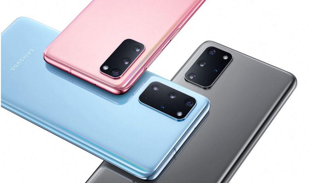 Samsung Galaxy S20 y S20+