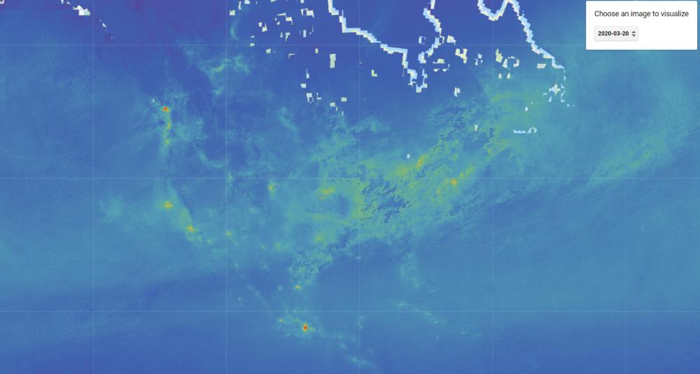 Contaminación Atmosférica - Impacto COVID-19 - América Central y América del Norte
