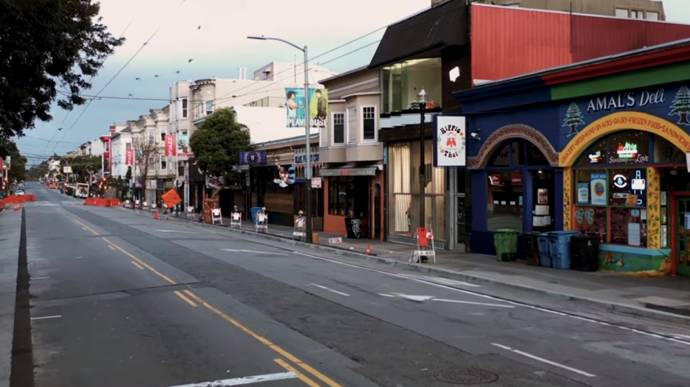 San Francisco en Cuarentena