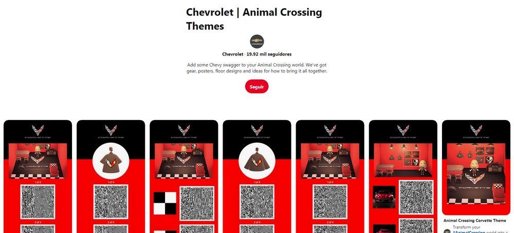Chevrolet Corvette - Animal Crossing: New Horizons