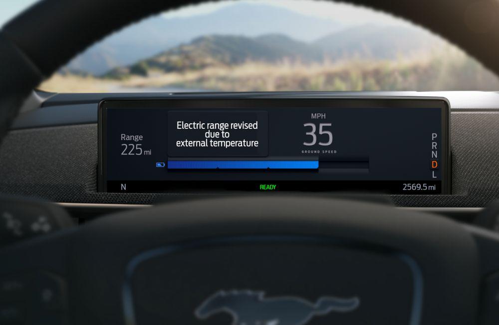 Ford Mustang Mach-E - Autonomía Inteligente
