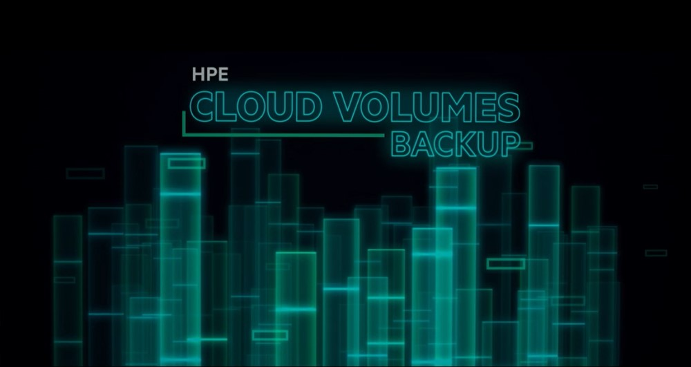 HPE Cloud Volumes Backup