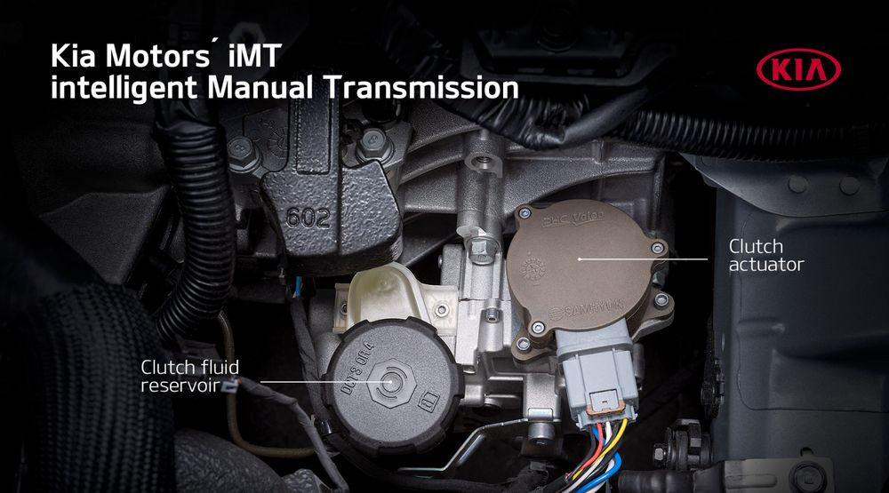 Kia iMT - Embrague Electrónico