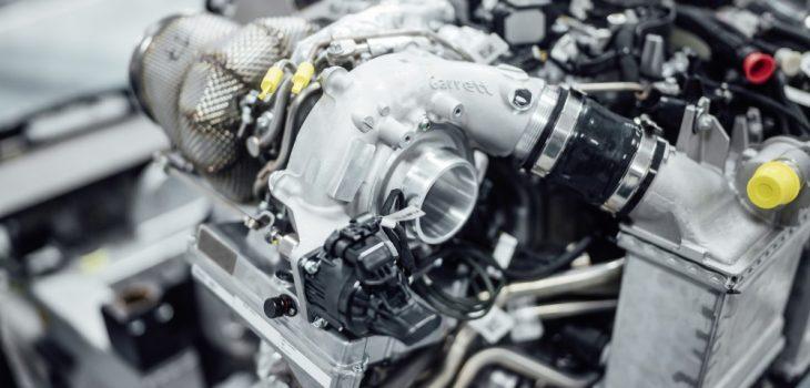 Mercedes-AMG - Turbocompresor Electrificado