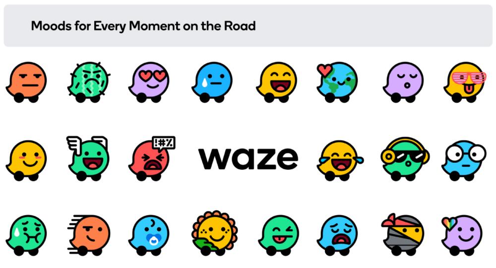 Waze - Moods