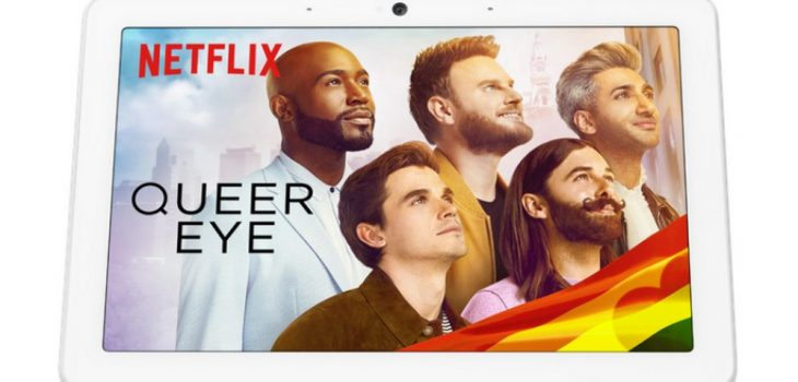 Google - Netflix -Nest Hub - Nest Hub Max