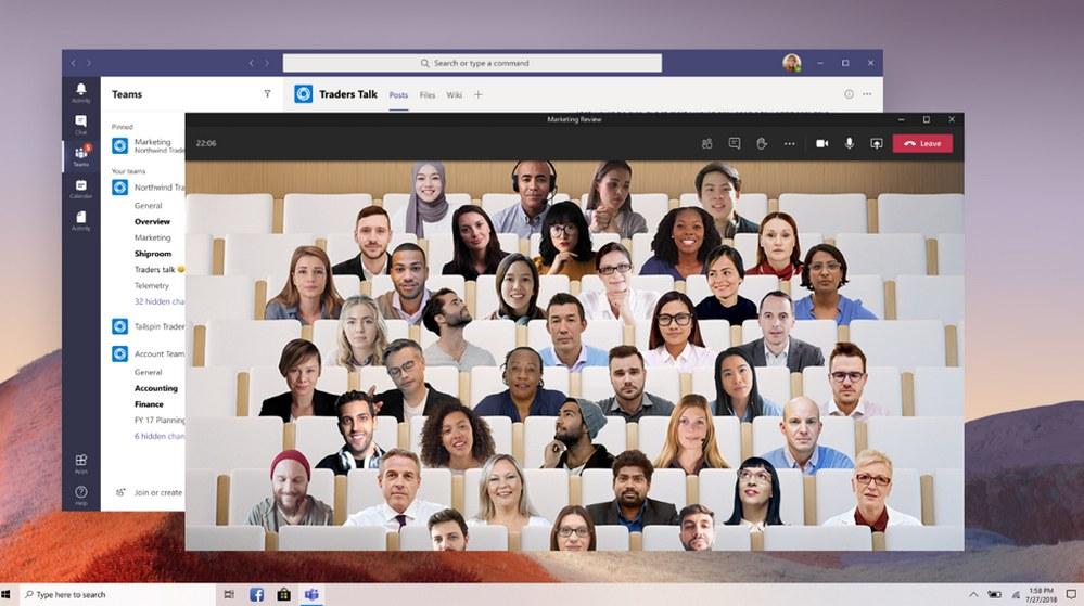 Microsoft Teams - Modo Todos Juntos