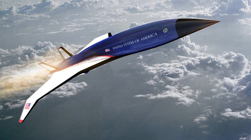 Hermeus Air Force One