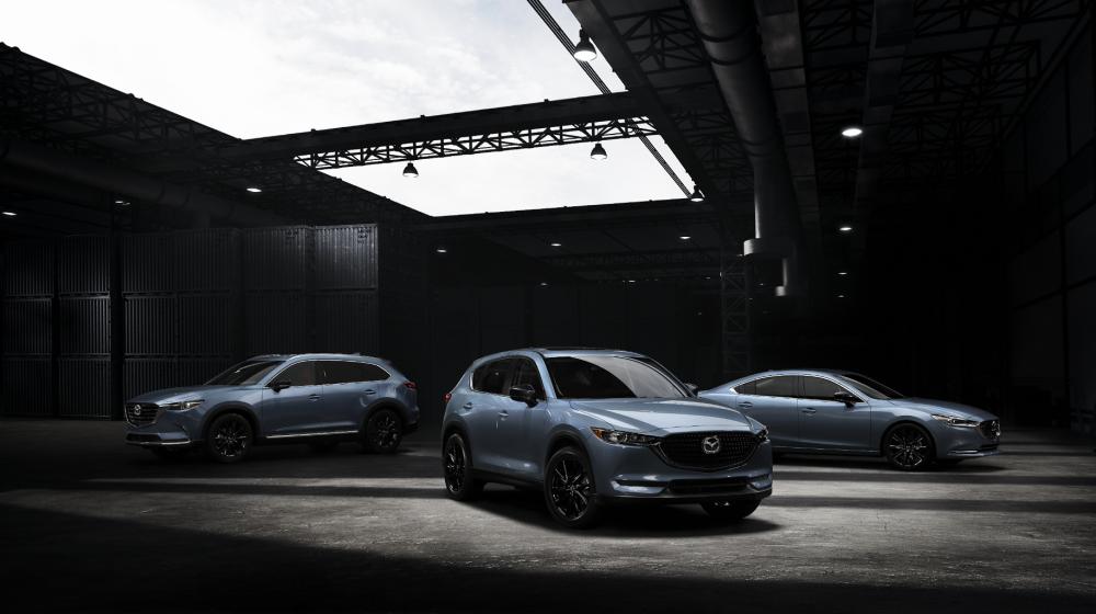Mazda CX-5, CX-9 y Mazda 6 2021 Edición Carbon