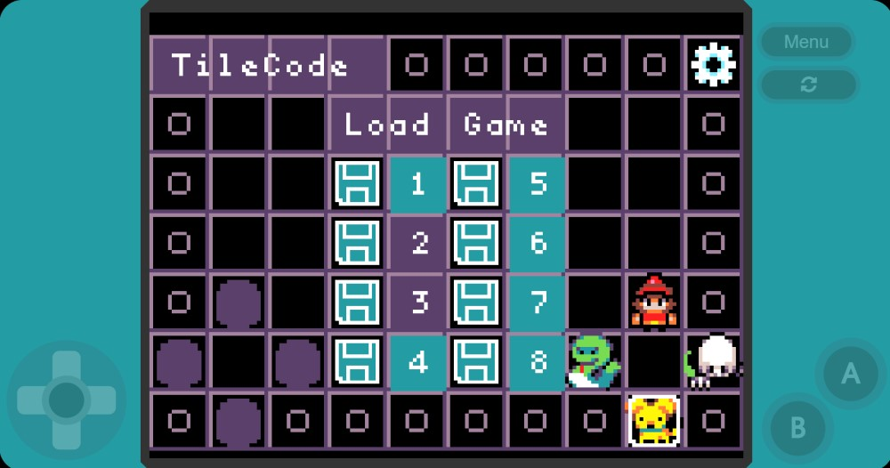 Microsoft TileCode para MakeCode Arcada