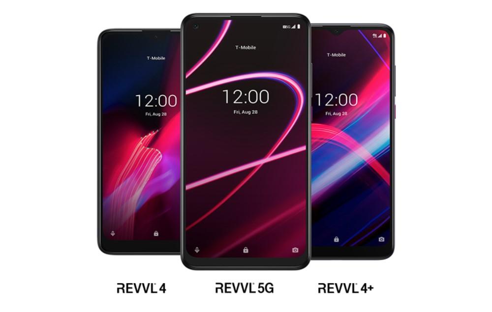 T-Mobile REVVL 4 - REVVL 4+ - REVVL 5G