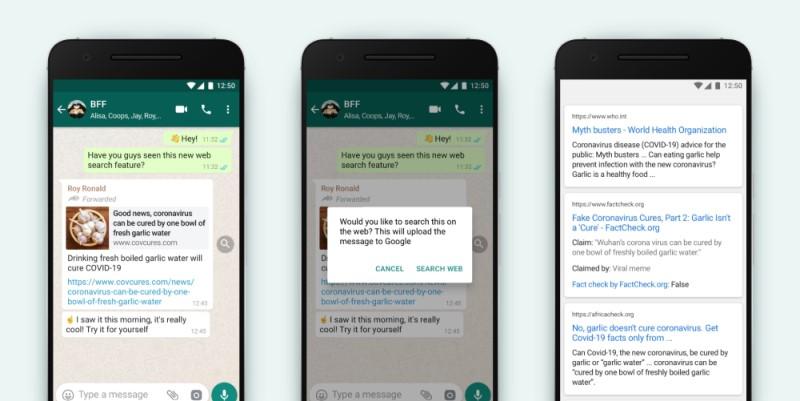 WhatsApp - Noticias Falsas