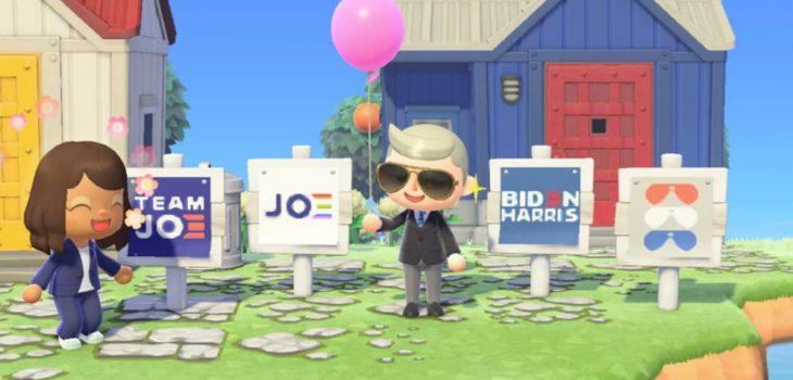 Animal Crossing: New Horizons - Biden-Harris