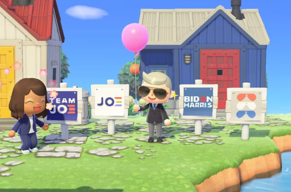 Animal Crossing: New Horizons - Biden-Harris