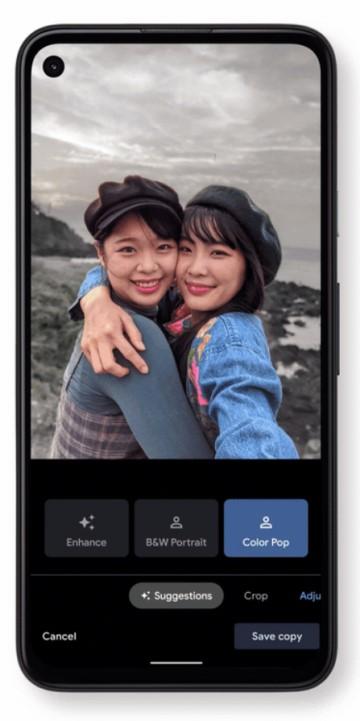Google Fotos Android - Nuevo Editor