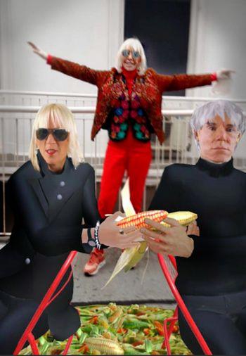 UXart - Marta Minujín - Andy Warhol