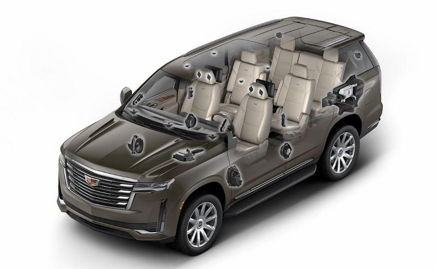 2021 Cadillac Escalade ESV 4WD Premium Luxury - Sistema AKG Studio 39 Altavoces