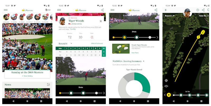 Masters Tournament Android