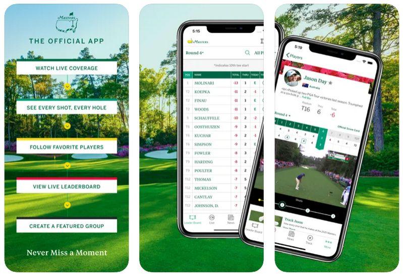 Masters Tournament iOS