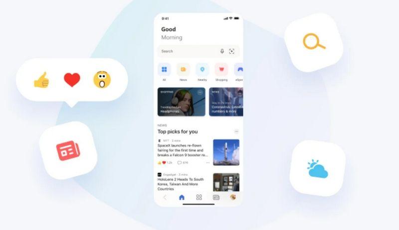 Microsoft News Beta para Android