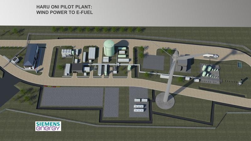 Planta Haru Ori - Chile - Porsche - Siemens