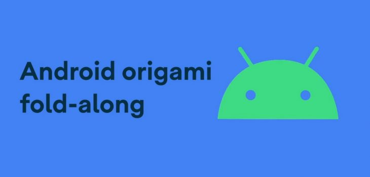 Origami del Logo de Android