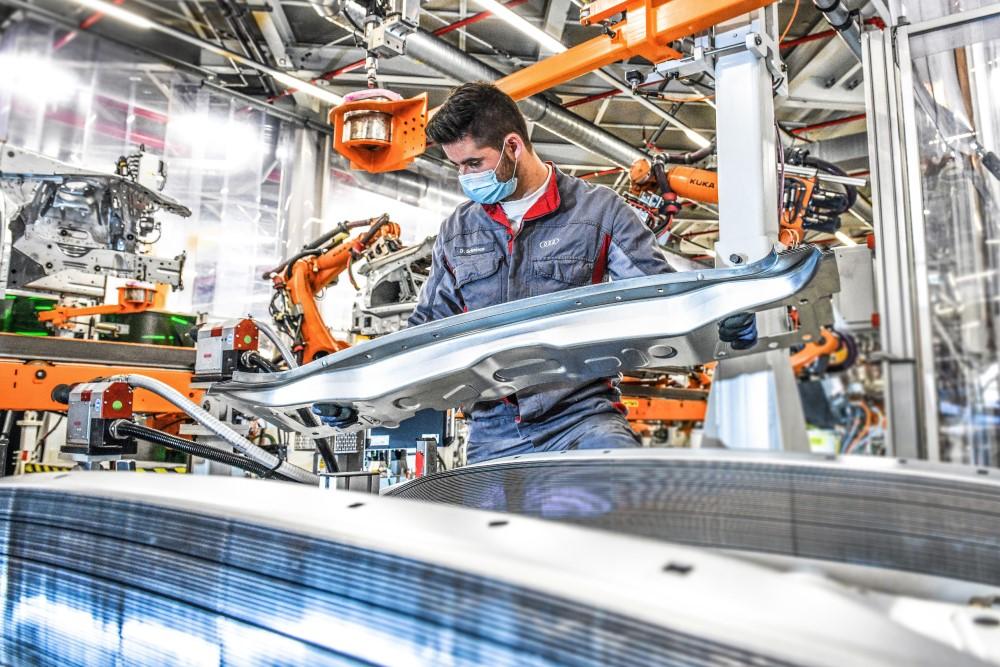 Audi Ideas - Taller de Carrocerías Neckarsulm