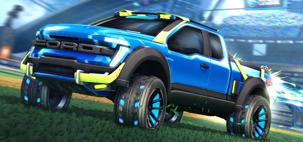 Ford F-150 Edición Rocket League
